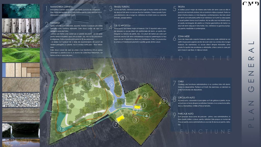 landscape architecture concept and masterplaning