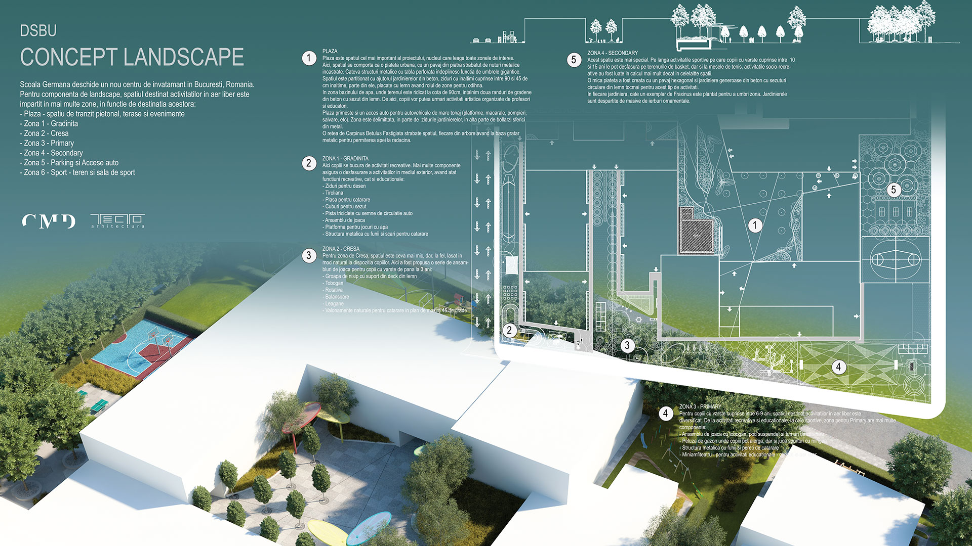 Cmd Design Landscape Architecture Concept And Masterplaning